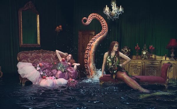 Miss Aniela Natalie Lennard Mermaid Ladies Water Photograph