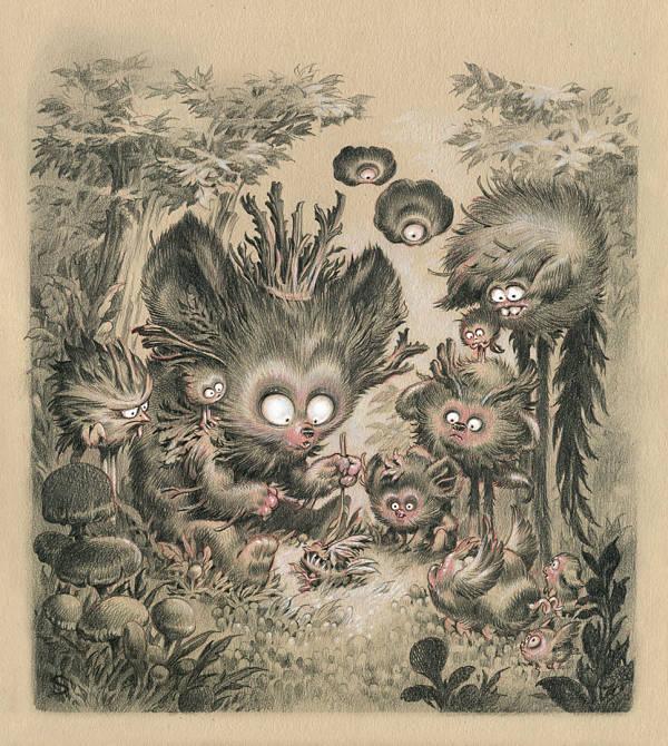"Stan Manoukian ""The Kingdom"" surreal illustration"