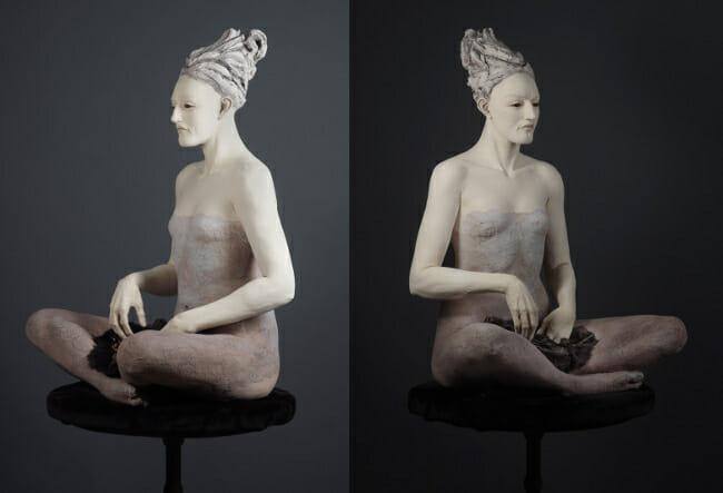 Susannah Zucker clutch sculpture