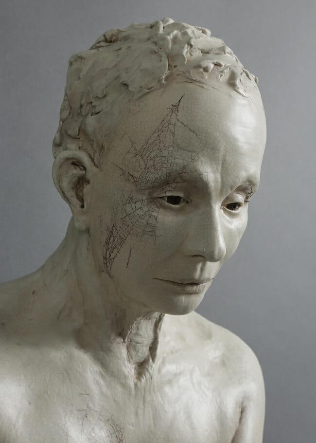 Susannah Zucker evening sculpture face