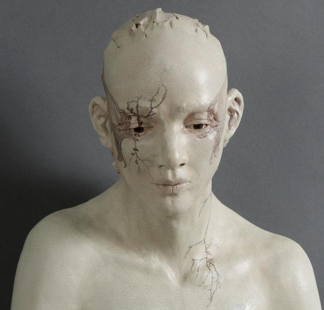 Susannah Zucker morning sculpture close up