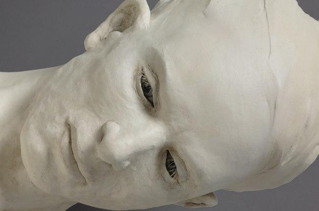 Susannah Zucker conjure face sculpture