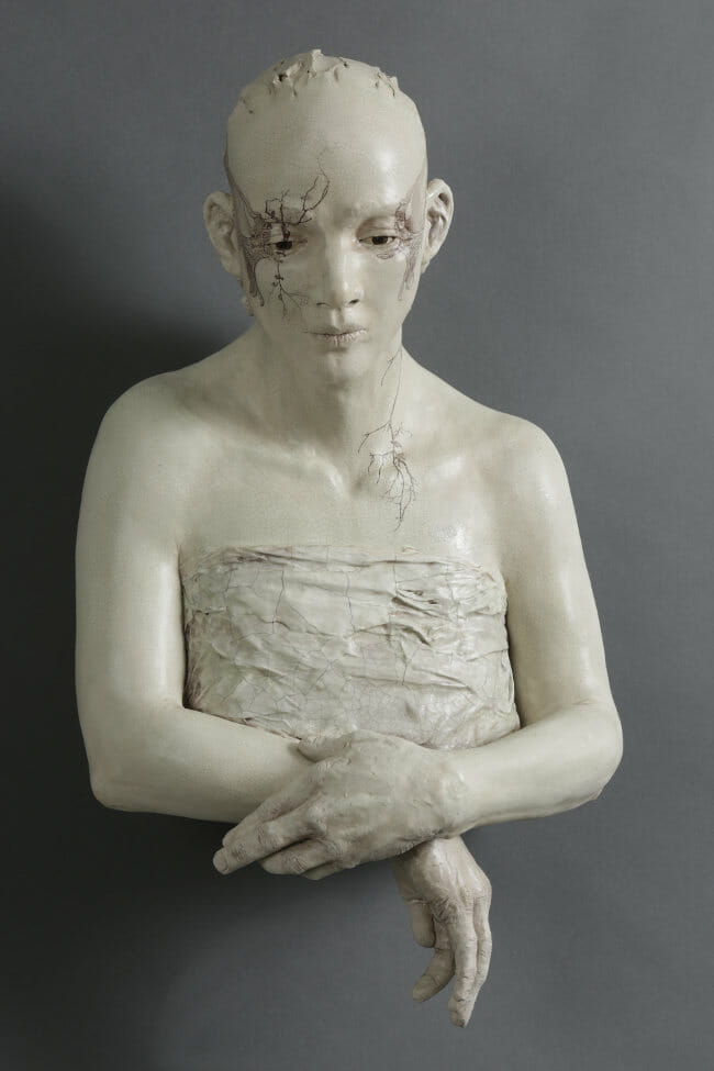 Susannah Zucker morning sculpture