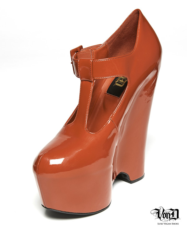 Kat Von D Von D Shoes red fetish heels