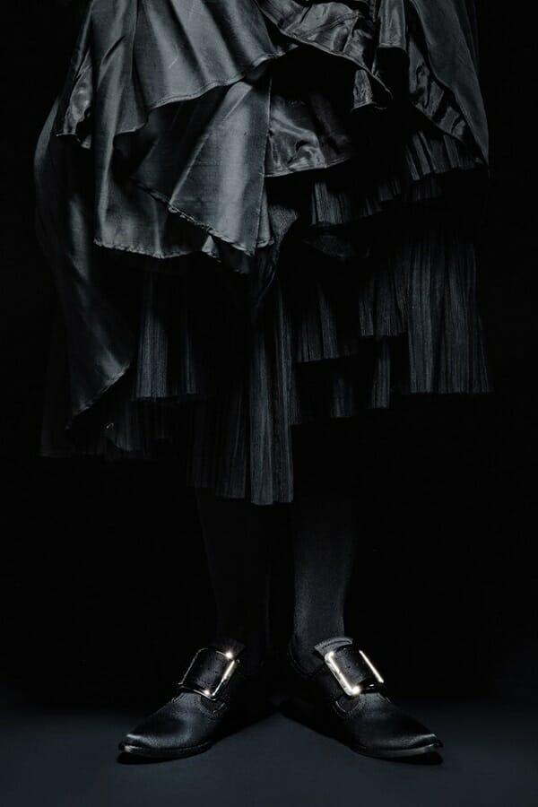 "Kat Von D Launches ""Von D Shoes"" on World Vegan Day coven witch shoes"