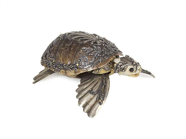 """Jessica Joslin """"Tweed"""" turtle sculpture Modern Eden x Haven"""