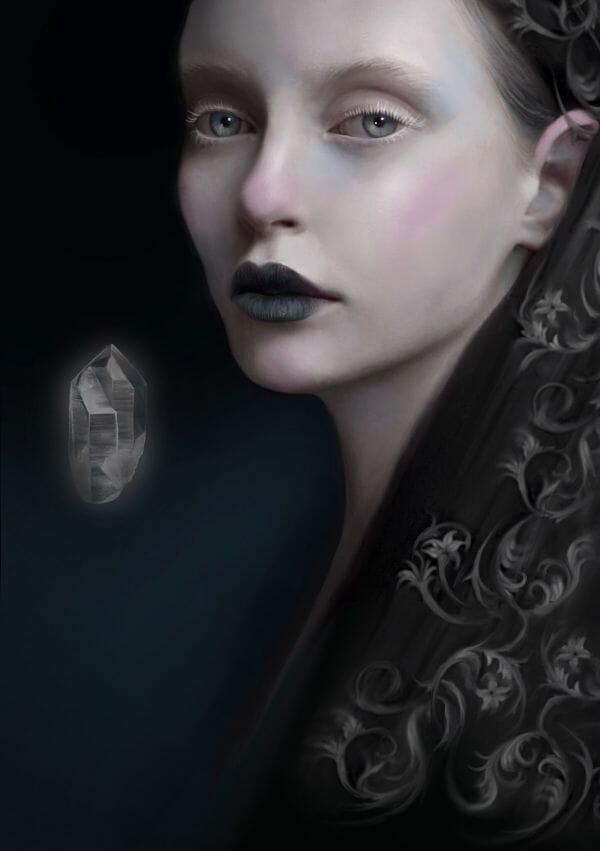 Juliana Loomer dark surrealism digital painting Aeon