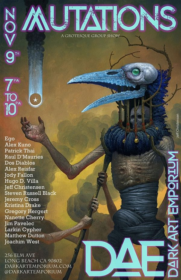 Mutations: A Grotesque Group Show at The Dark Art Emporium