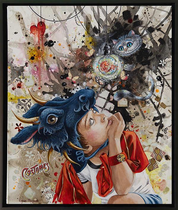 "Virginie Mazureau ""The Enigma of The Fish of Light"""