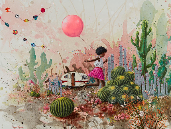 "Virginie Mazureau ""L'echappee Belle - The Great Escape"" Distinction Gallery"