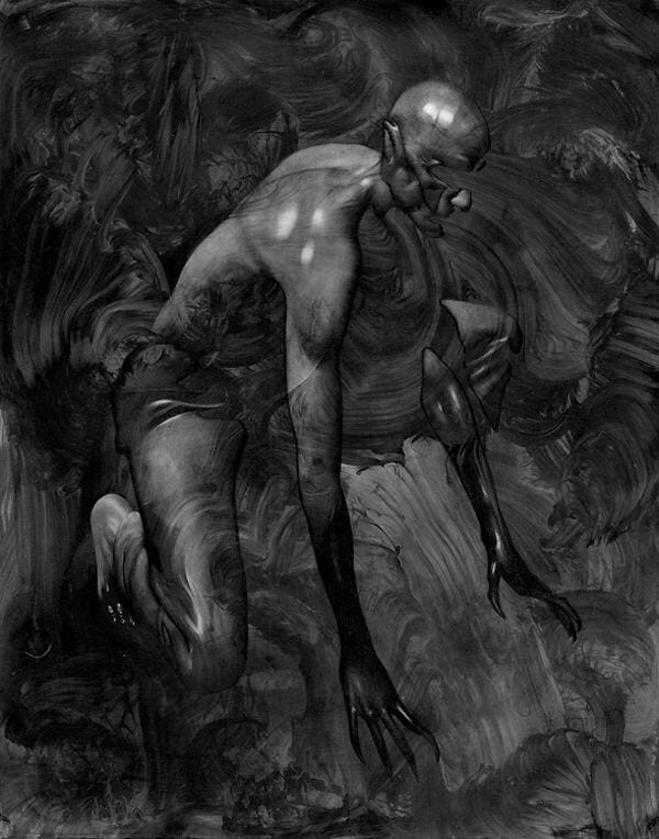 Allen Williams vampire dark art