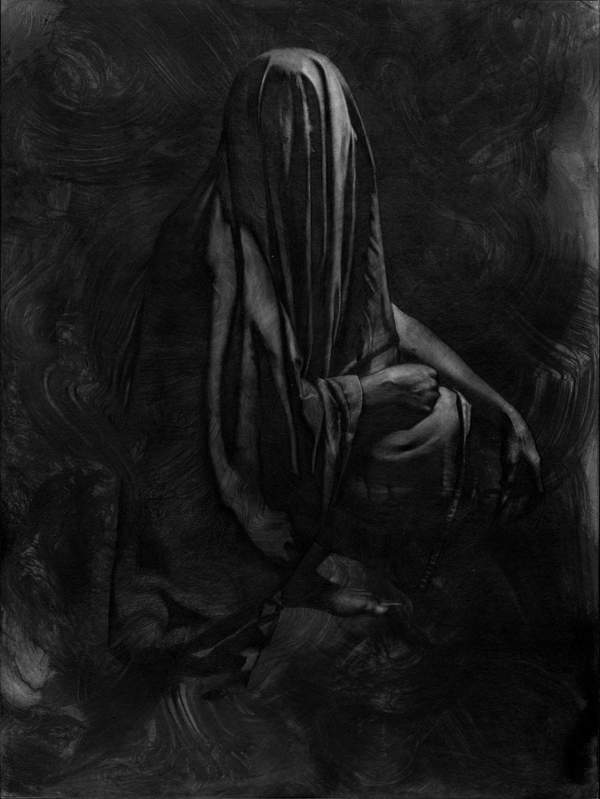 Allen Williams vampire dark art Hidden Light at Copro Gallery