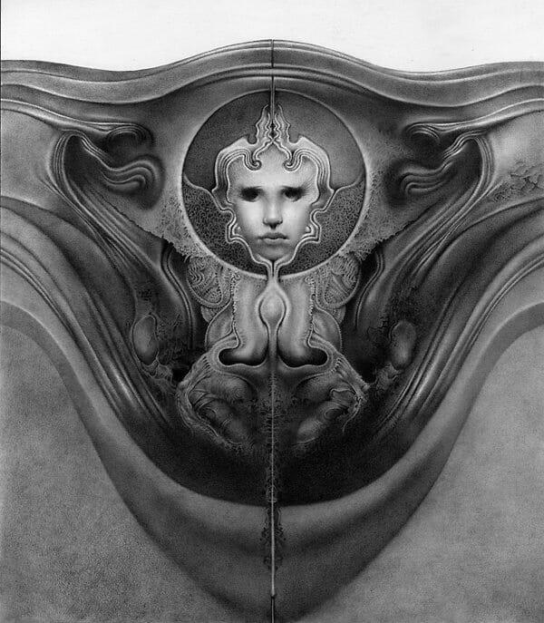 Allen Williams dark art drawing