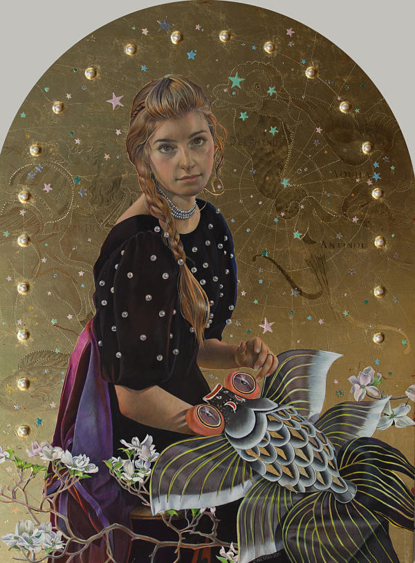 Fred Wessel The Constellation surreal painting