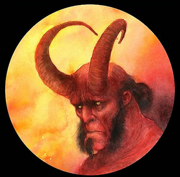 Hellboy portrait Iris Compiet