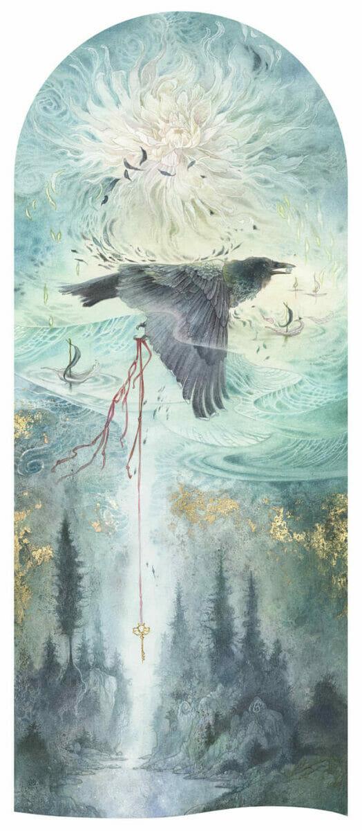 Stephanie Law conjure bird painting