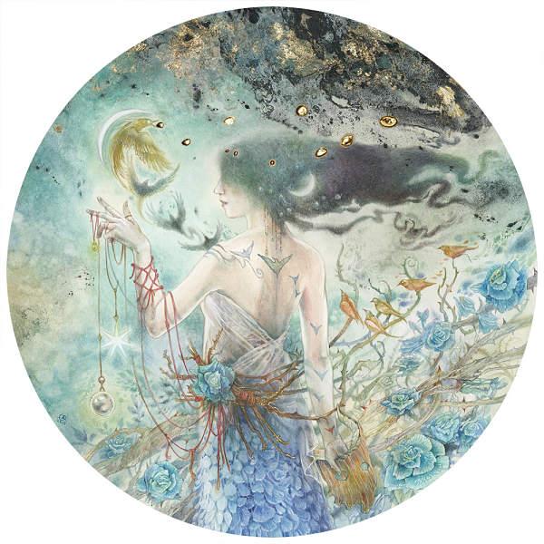Stephanie Law conjure goddess painting