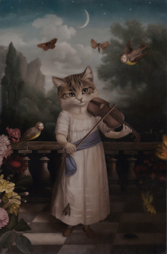 Stephen Mackey cat and fiddle Arcadia Contemporary