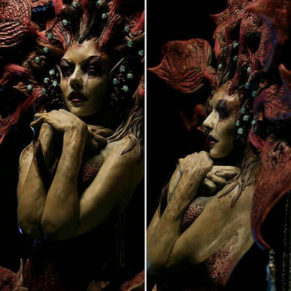 Virginie Ropars dark art surreal sculptures