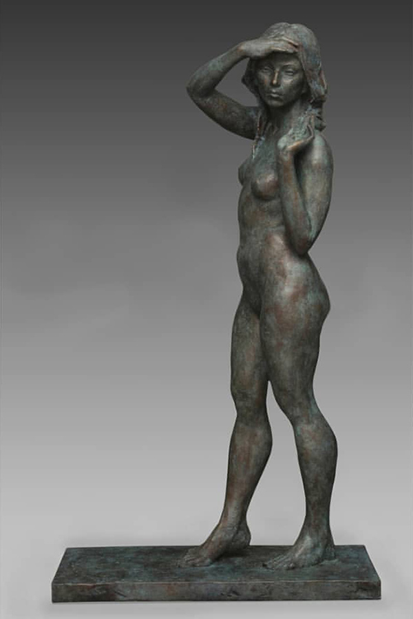 Alicia Ponzio nude art figurative sculpture