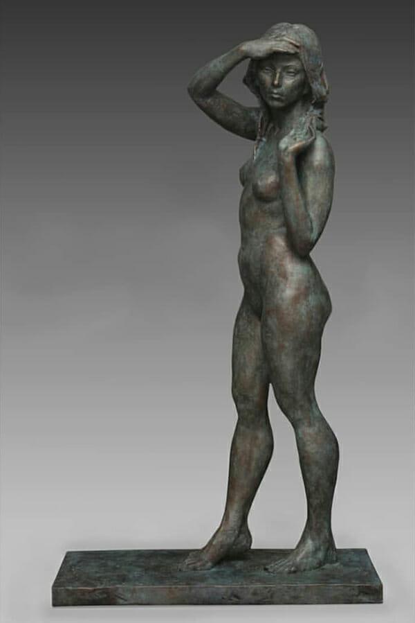 Alicia Ponzio nude art figurative sculpture