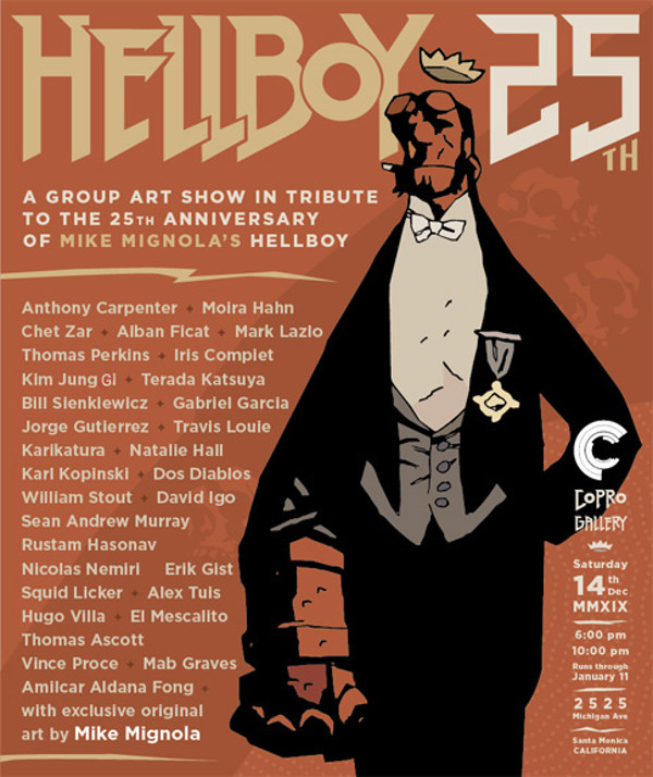 Hellboy group exhibition