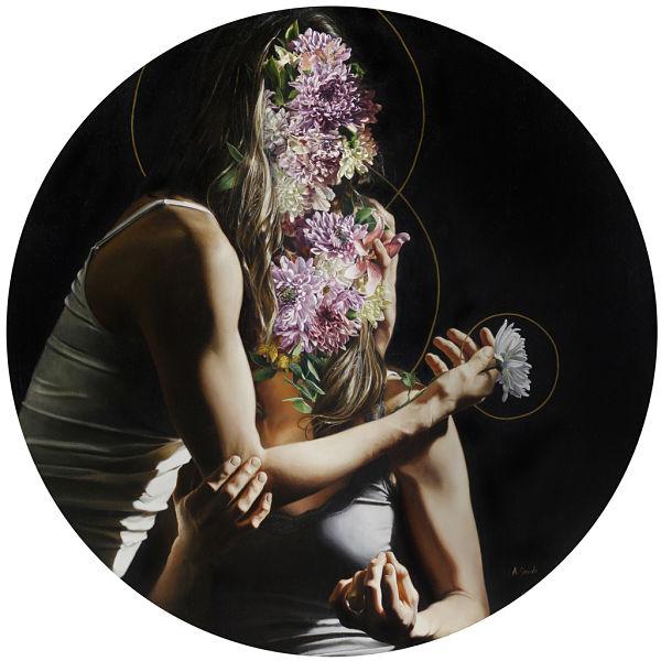 Amanda Greive surreal flower portrait