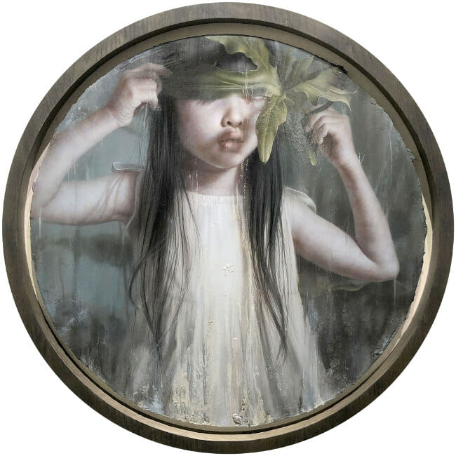 Lo Chan Peng - Dark Forest painting Arcadia Contemporary Portraiture 2020