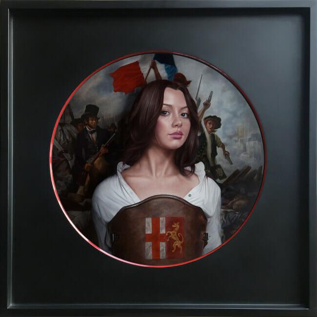 Mary Jane Ansell - Liberty Call (Revolution) Arcadia Contemporary Portraiture 2020