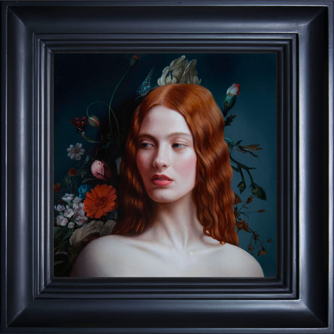 Mary Jane Ansell - Lamina II painting