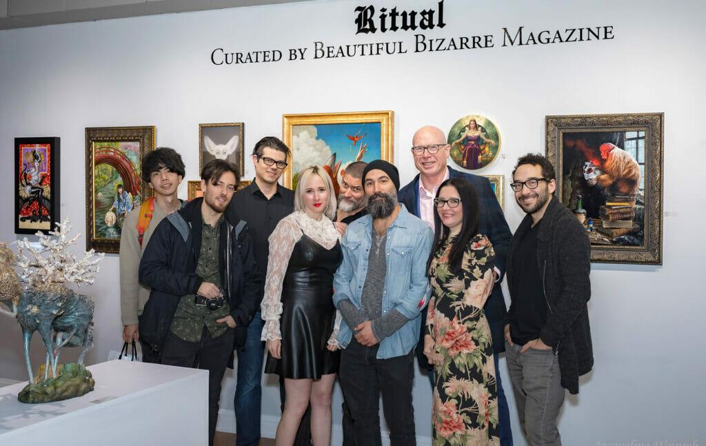 Beautiful Bizarre Art Prize exhibition 2019