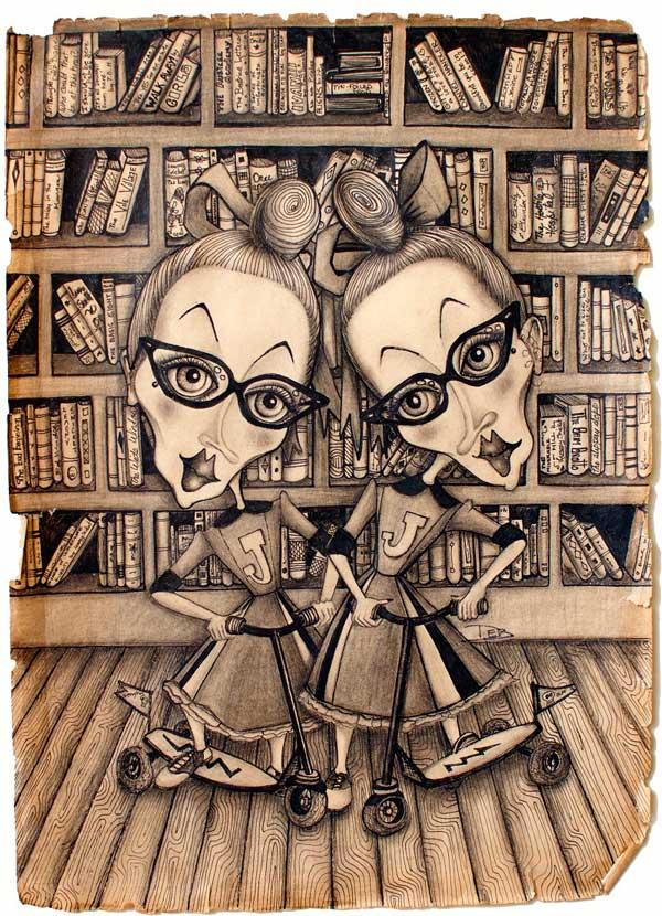 Debbie Lelievre illustration