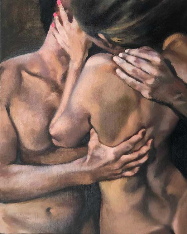 Martine Emdur Grip painting