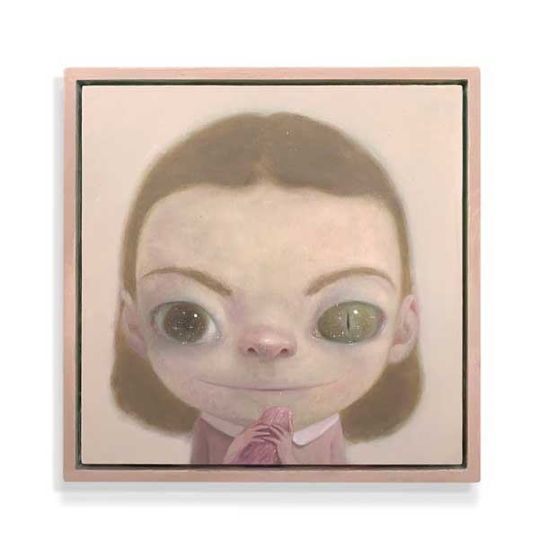 Roby Dwi Antono big eye little girl painting