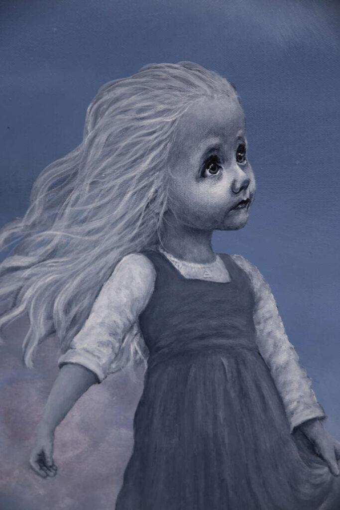 air girl painting