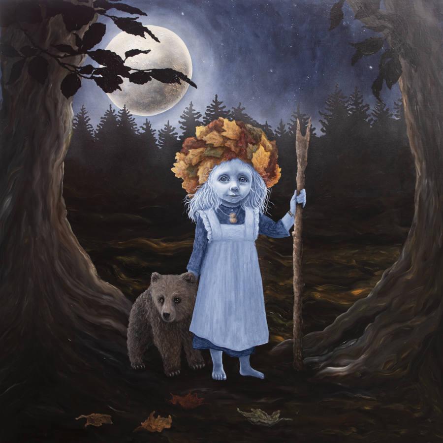 Anne Juul Christophersen moon painting