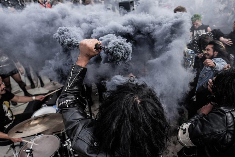 Smokebomb Matthew Kadi photography