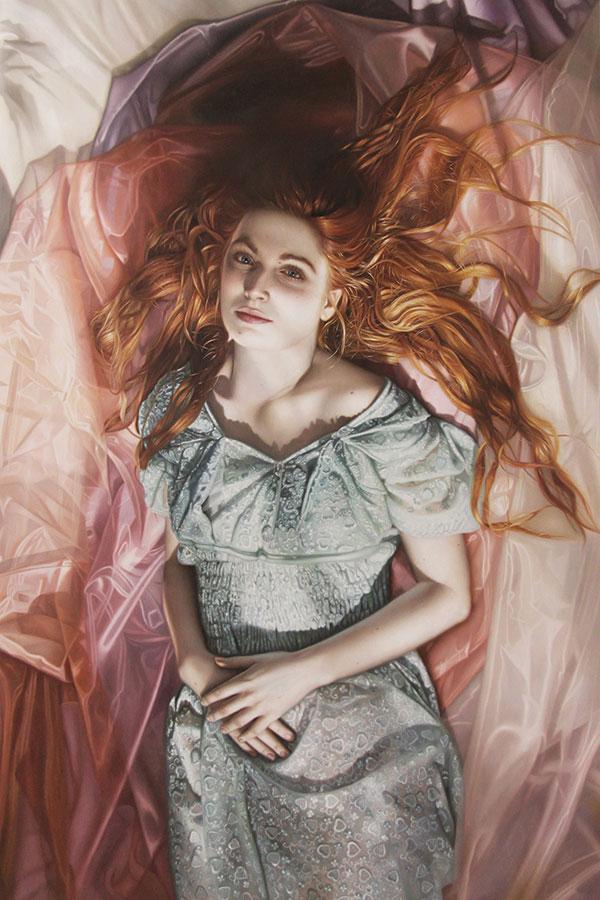 Harold Munoz_Woman lying down amongst sheets
