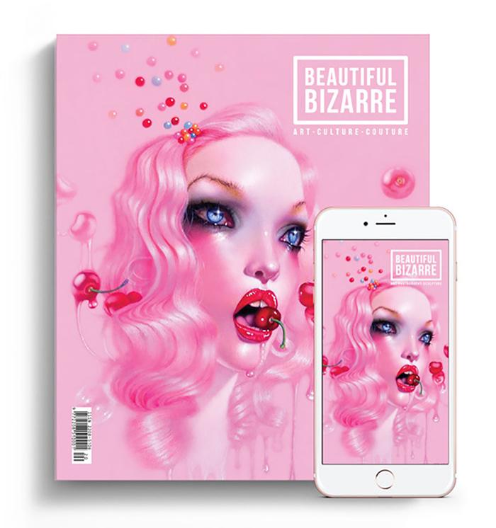 Beautiful Bizarre Magazine - September Issue 26 - troy brooks