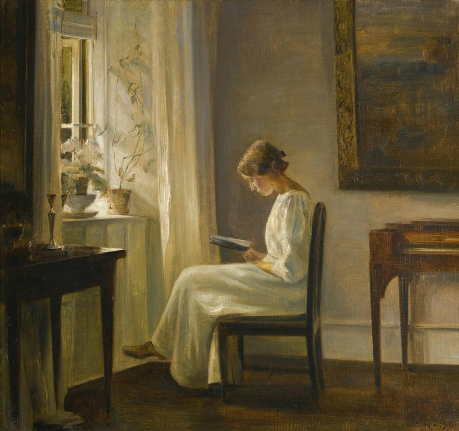 Carl Holsoe Danish painting