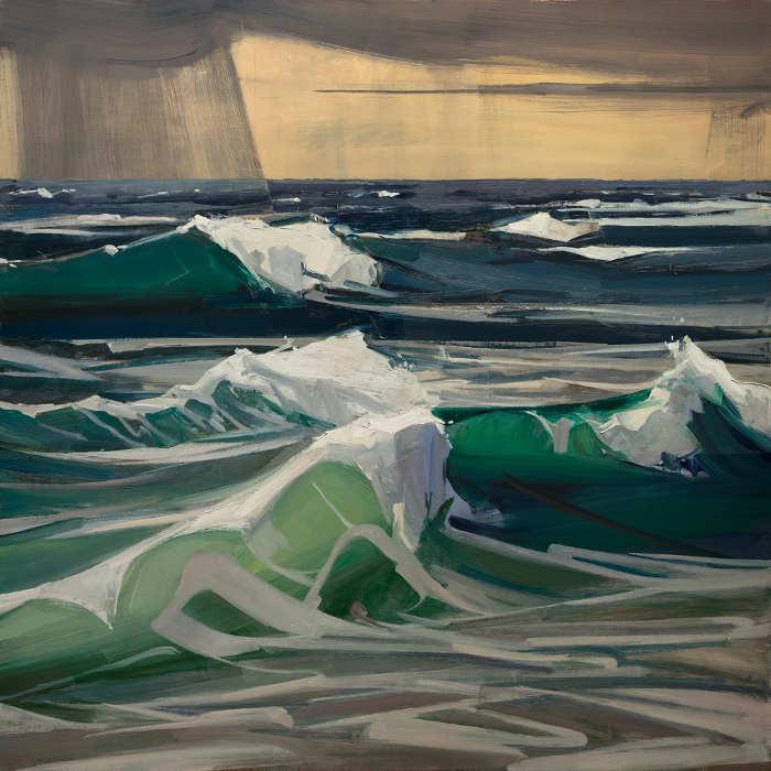 Christopher Benson fine landscape paintings at EVOKE Contemporary