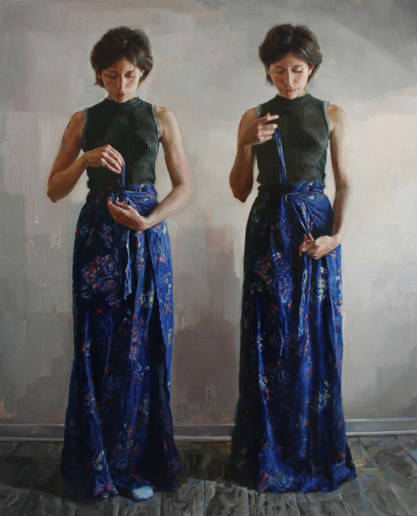 "Daniela Kovacic - ""Daniela II"" figurative painting"