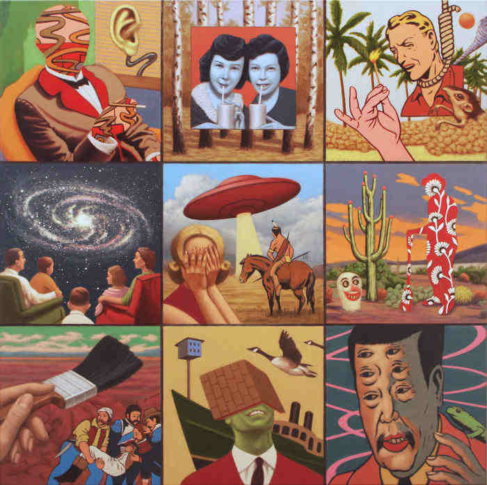 Dirk Kortz representational paintings at KEEP Contemporary