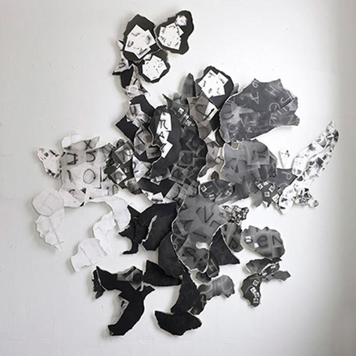 Elisabeth Ajtay moon alphabet at Don Soker Contemporary
