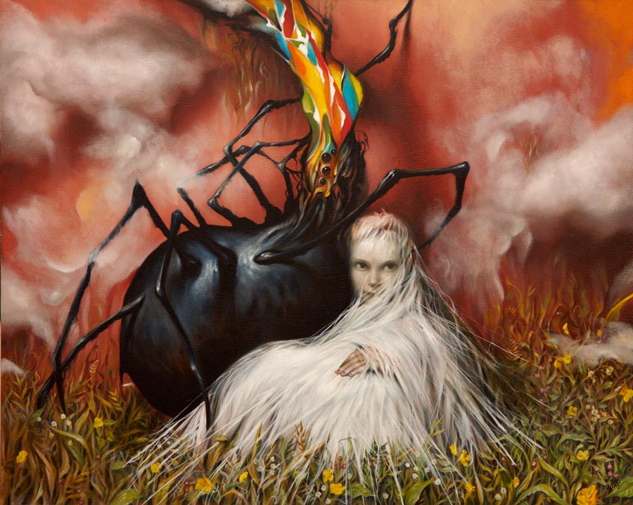Esao Andrews surreal painting