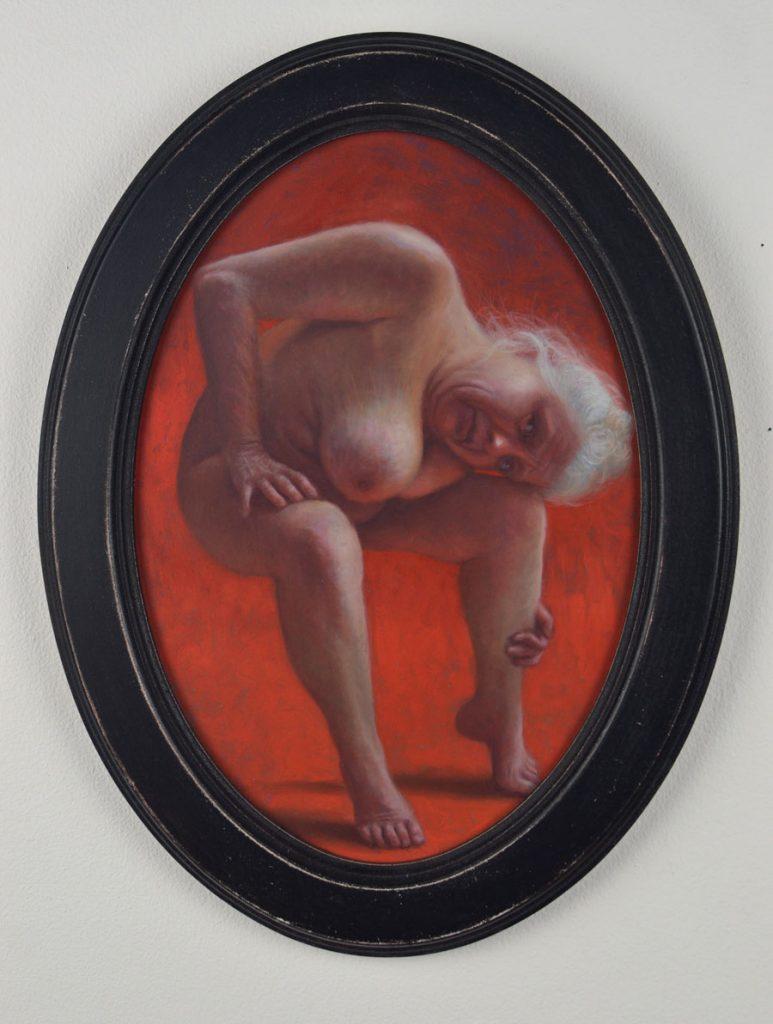"Francien Krieg - ""Shelter"" nude painting"