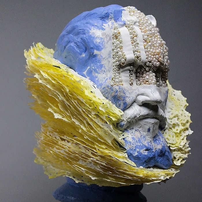 Jedediah Morfit sculptures at Paradigm Gallery