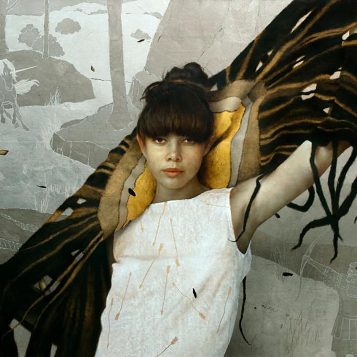 Brad Kunkle fine portrait art at Arcadia Contemporary