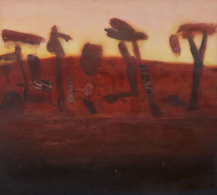 Kate Dorrough landscape at Arthouse Gallery
