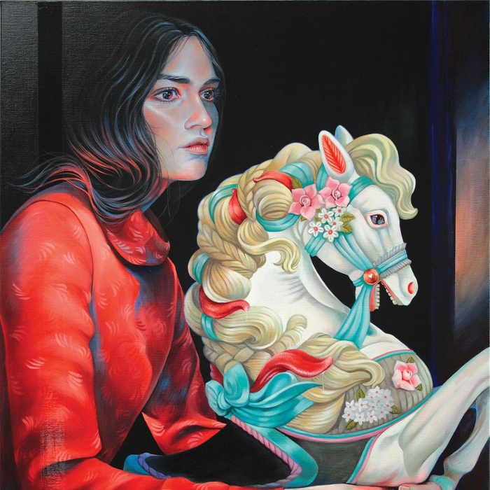 Martine Johanna new surreal paintings at KochxBos